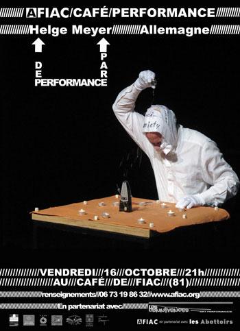 AFIAC / Café / Performance Helge Meyer