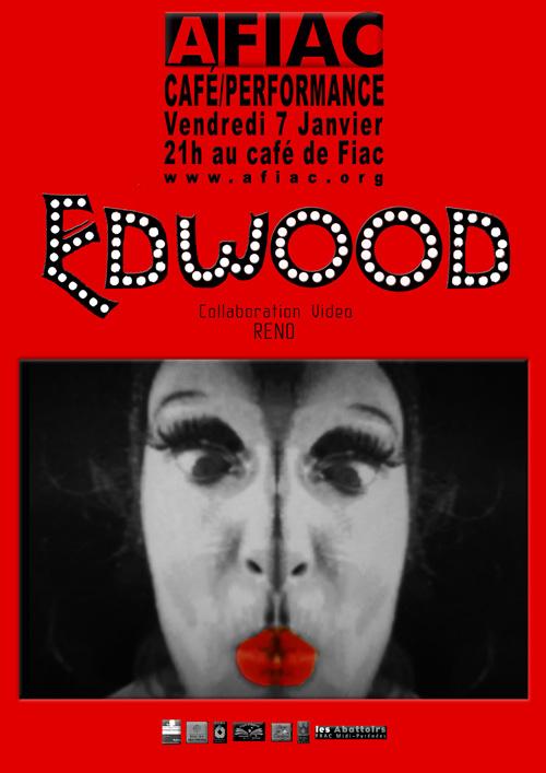 Une performance d'Edwige Mandrou dans le cadre des AFIAC/Café/Performance