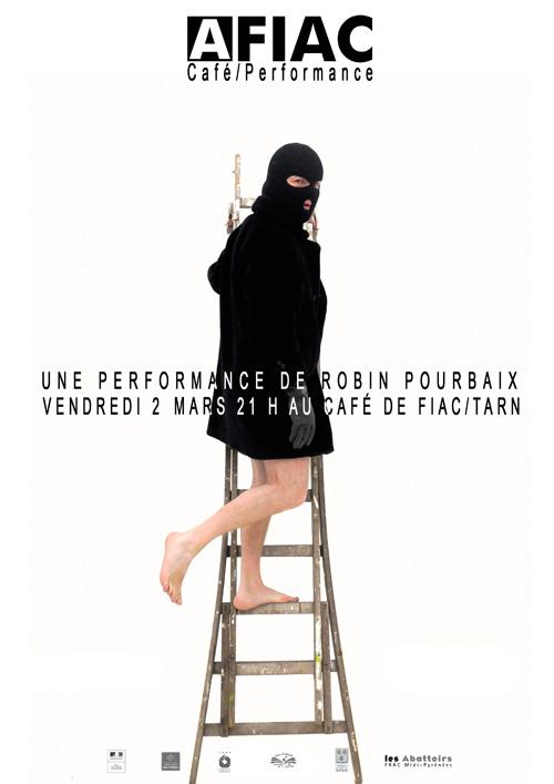 AFIAC/Café/Performance Robin Pourbaix au café de Fiac