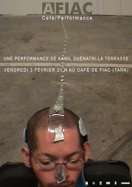 AFIAC/Café/performance Kamil Guenatri