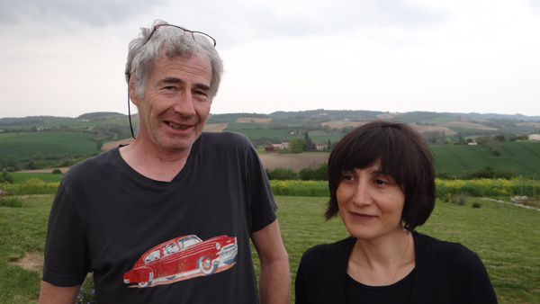 Jean-Louis et Louisa Roque accueillent Hugo Verlinde