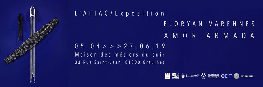 Exposition Floryan Varennes Amor Armada